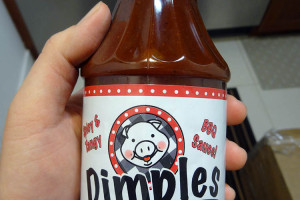 01 Dimples Spicy BBQ Sauce