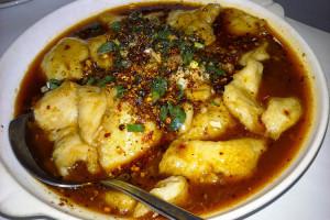 04 Braised Fish Filets & Napa Cabbage W Roasted Chili - Lan Sheng