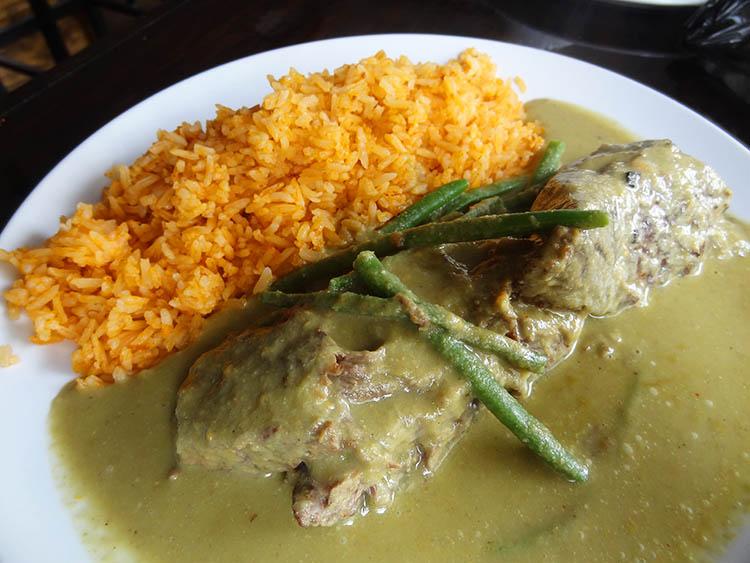06 Short Ribs with Green Mole - Amaranto Mexican Restaurant