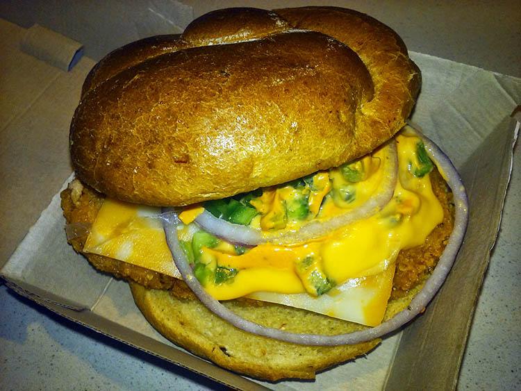 Wendy's Jalapeno Fresco Spicy Chicken Sandwich