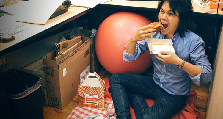 05 Seamless Picnic in an Office Cubicle