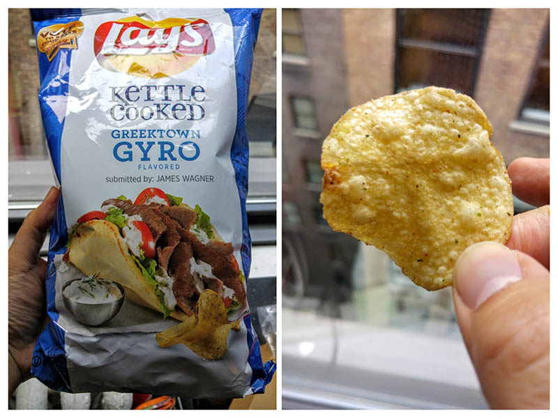 02 Lay's Greektown Gyro Chips