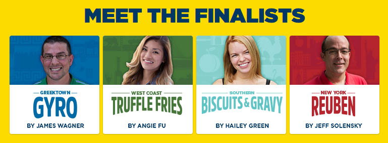 Lay's 2015 Do Us A Flavor Chip Finalists