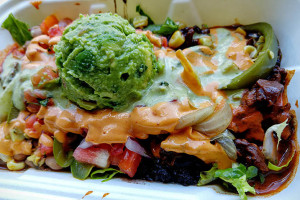 04 New Mexican Beef Curry Burrito Bowl - Oxido Modern Mexican NYC