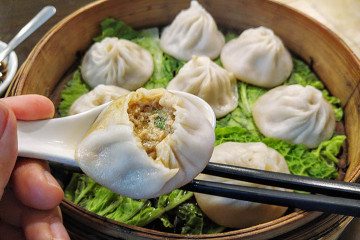 32 Pork Soup Dumplings - Shanghai Heping Restaurant NYC